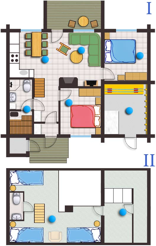 Floor plan and 360 virtual tour lapland feeling log for Floor plan virtual tour